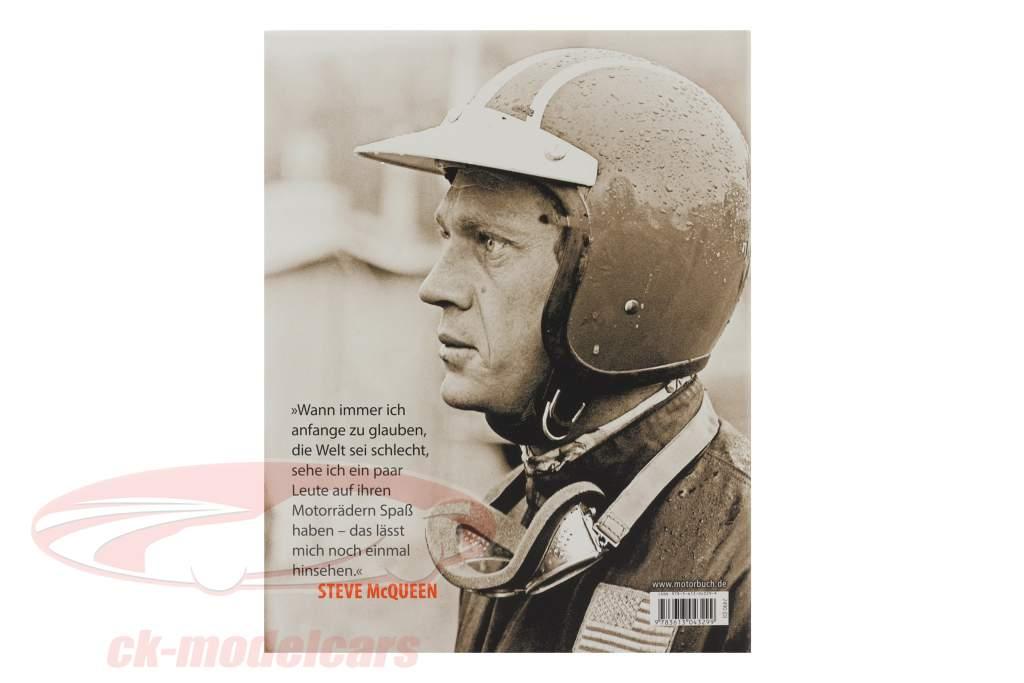本: Steve McQueen - 彼の オートバイ、 彼の レース