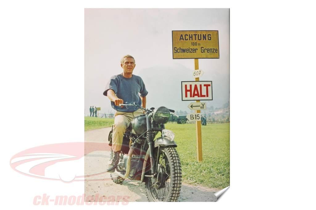 Boek: Steve McQueen - Zijn Motorfietsen, zijn races
