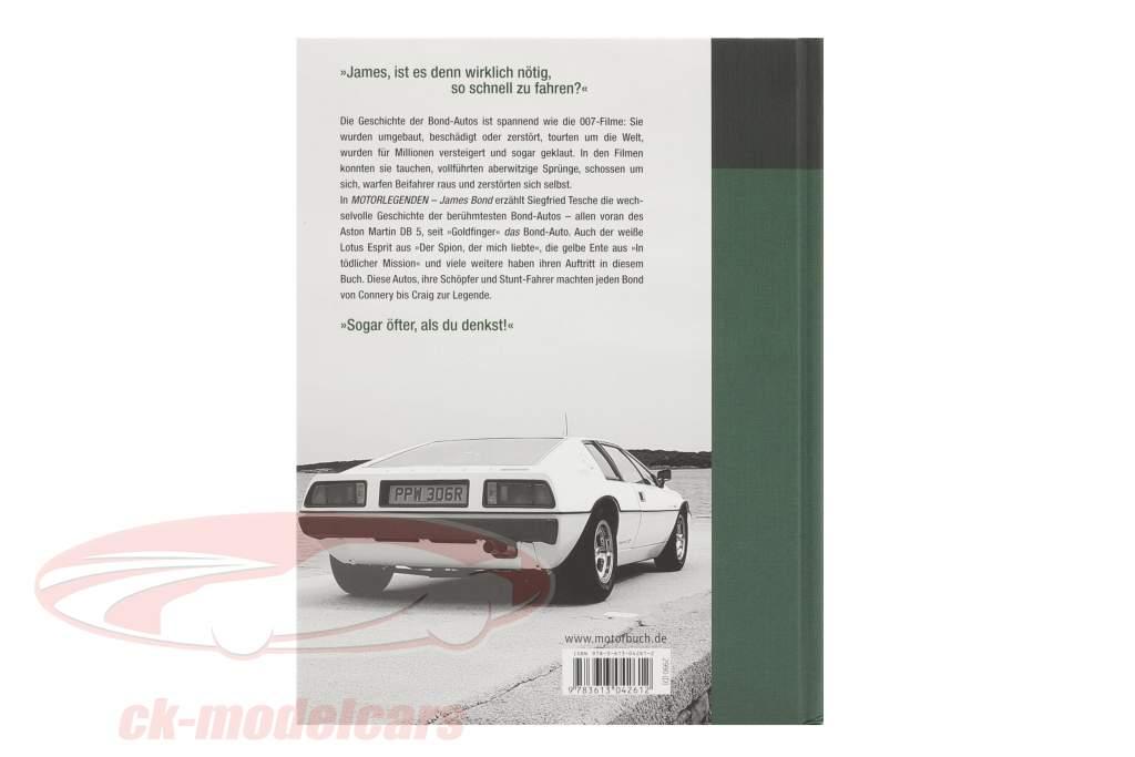 Buch: Motorlegenden: James Bond / von Siegfried Tesche