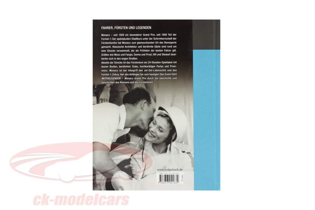 Buch: Motorlegenden: Monaco Grand Prix / von Stuart Codling
