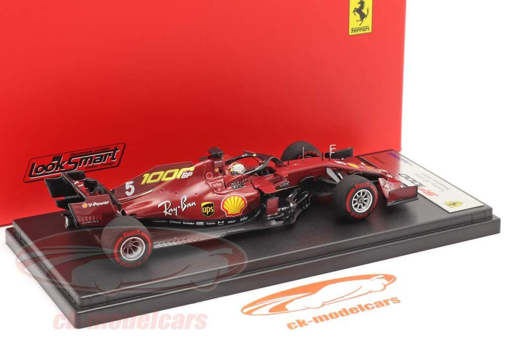 S. Vettel Ferrari SF1000 #5 1000th GP Ferrari Toskana GP F1 2020 1:43 LookSmart