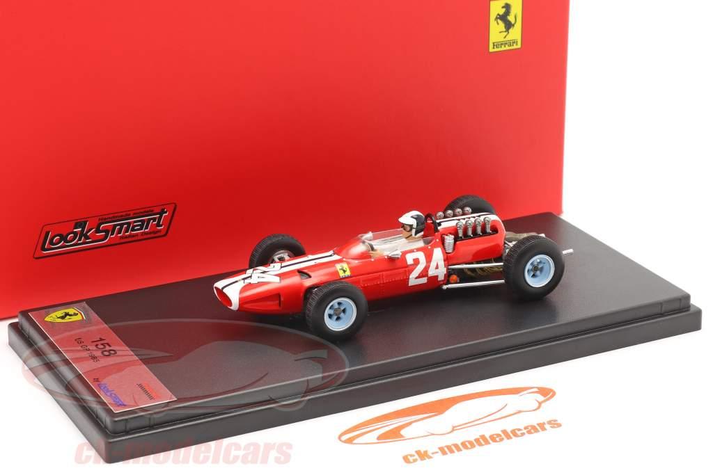 Bob Bondurant Ferrari 158 #24 Etats-Unis GP formule 1 1965 1:43 LookSmart