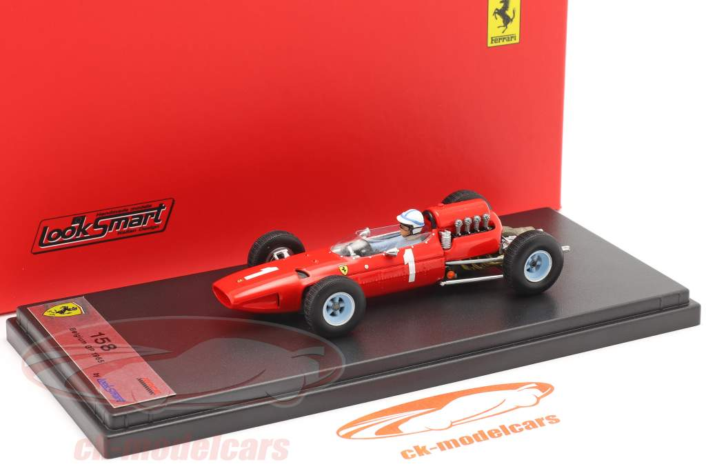 John Surtees Ferrari 158 #1 Belgian GP formula 1 1965 1:43 LookSmart