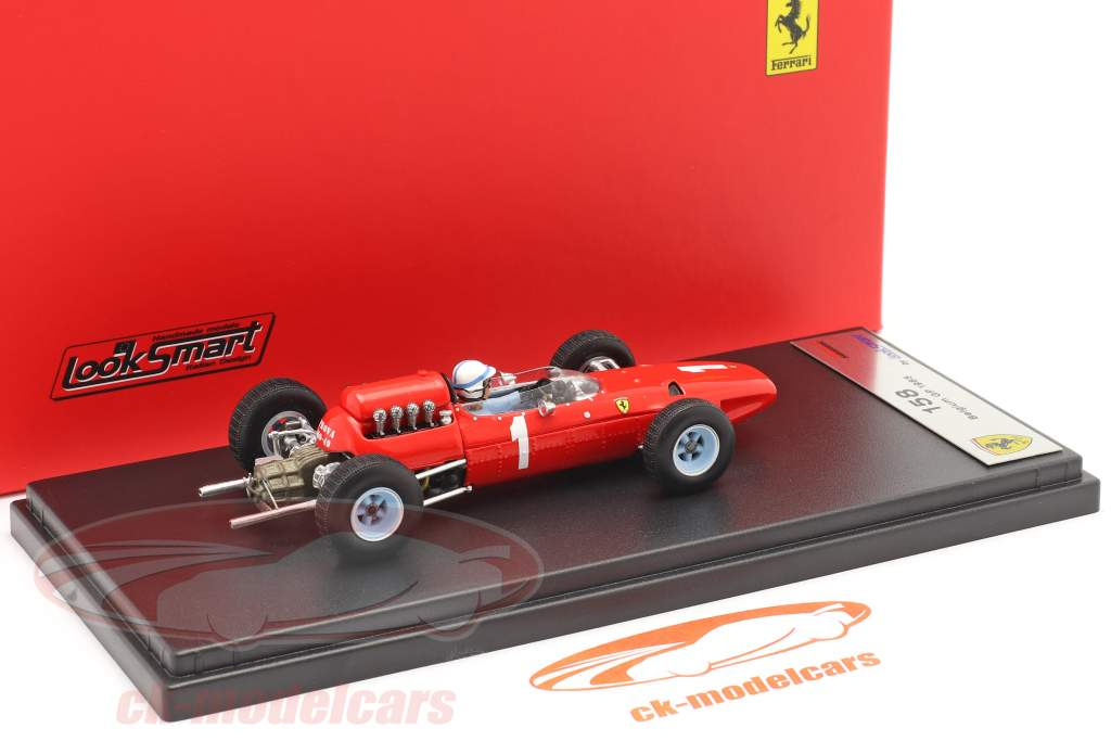 John Surtees Ferrari 158 #1 Belgisch GP formule 1 1965 1:43 LookSmart