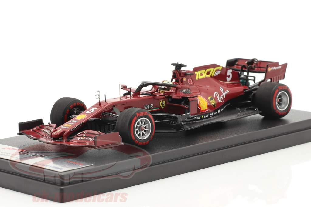 S. Vettel Ferrari SF1000 #5 1000ste GP Ferrari Toscane GP F1 2020 1:43 LookSmart