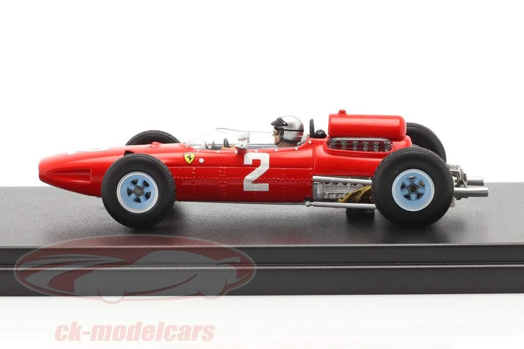 Lorenzo Bandini Ferrari 1512 #2 Belgien GP Formel 1 1965 1:43 LookSmart