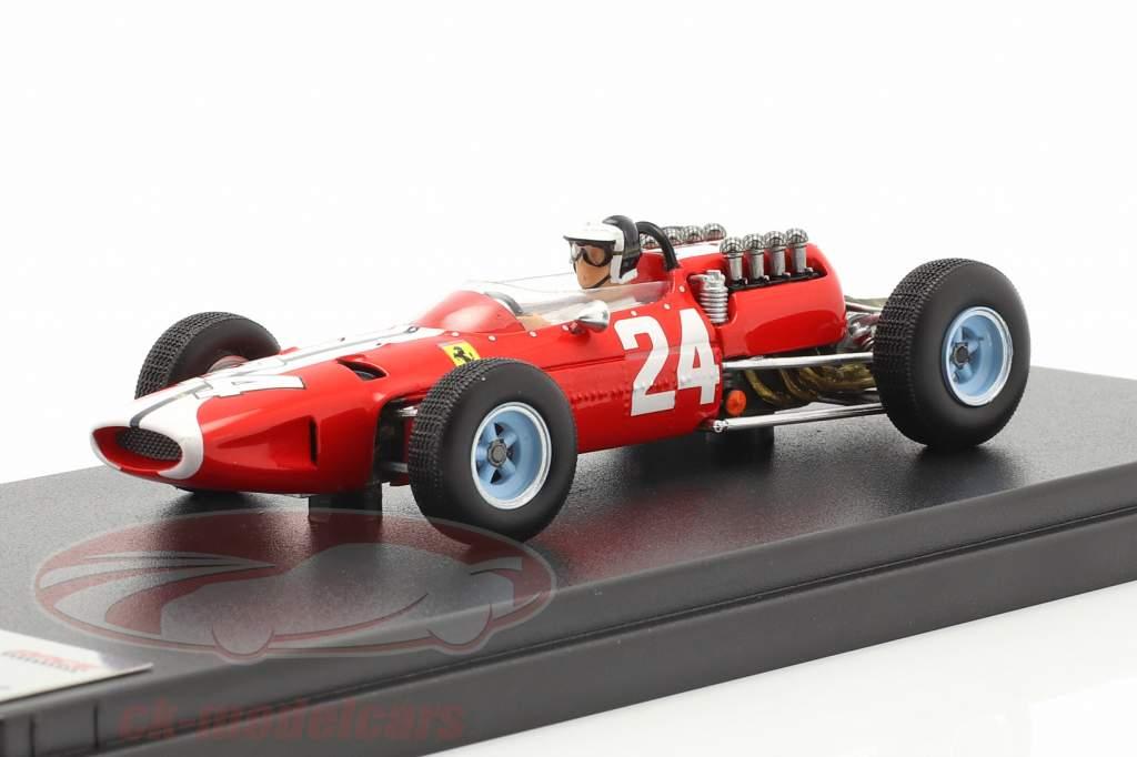 Bob Bondurant Ferrari 158 #24 EUA GP Fórmula 1 1965 1:43 LookSmart