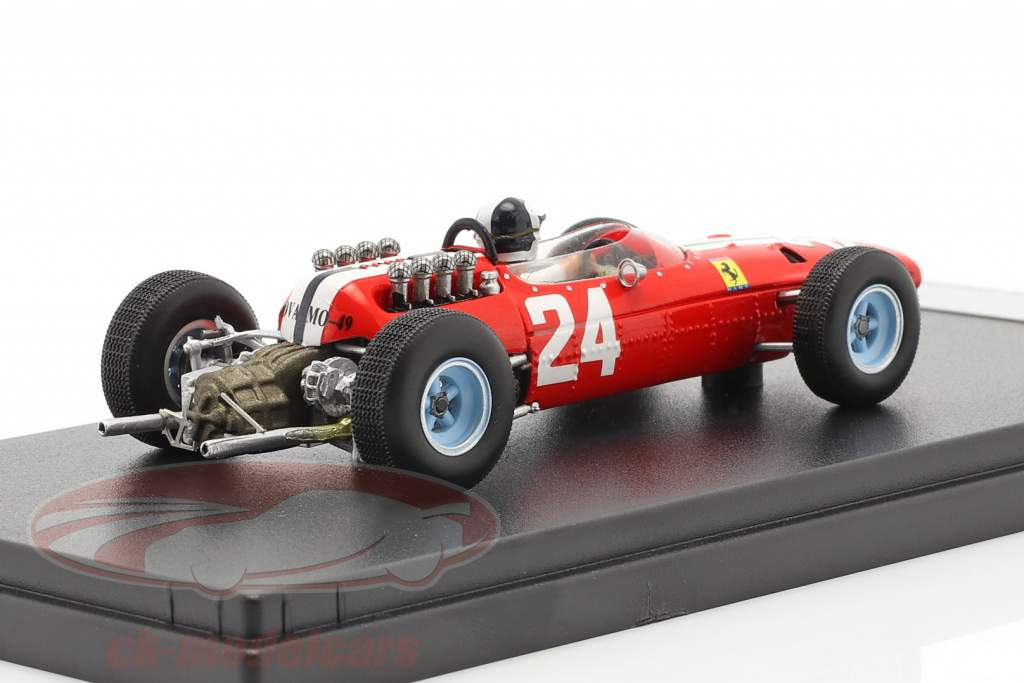 Bob Bondurant Ferrari 158 #24 EE.UU GP fórmula 1 1965 1:43 LookSmart