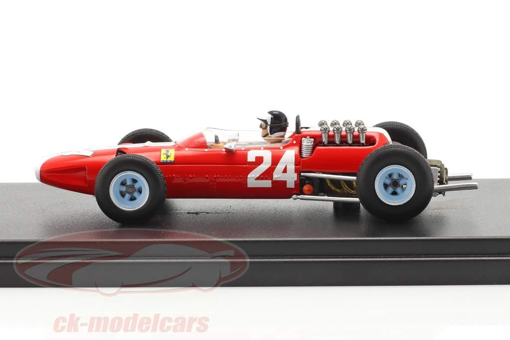 Bob Bondurant Ferrari 158 #24 Stati Uniti d'America GP formula 1 1965 1:43 LookSmart
