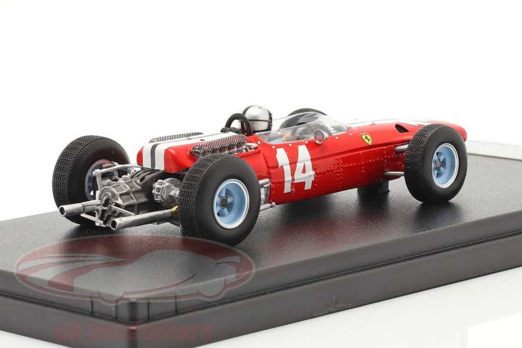 Pedro Rodriguez Ferrari 512 #14 5th USA GP formula 1 1965 1:43 LookSmart