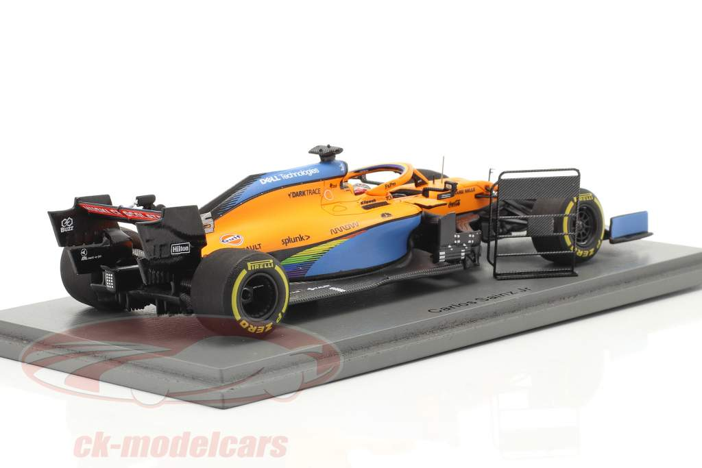Carlos Sainz McLaren MCL35 #55 2 ° italiano GP formula 1 2020 1:43 Spark