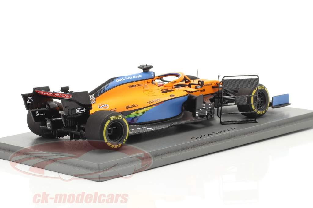 Carlos Sainz McLaren MCL35 #55 2e Italiaans GP formule 1 2020 1:43 Spark