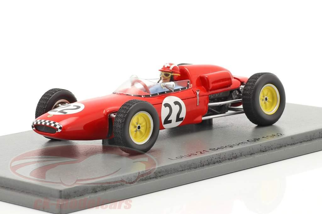 Jo Siffert Lotus 21 #22 Belgien GP Formel 1 1961 1:43 Spark