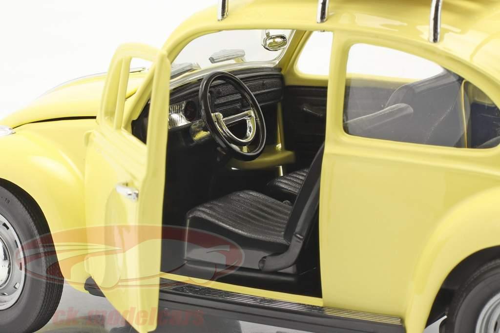Volkswagen VW Käfer Camping Version Baujahr 1967 gelb 1:18 Lucky Diecast