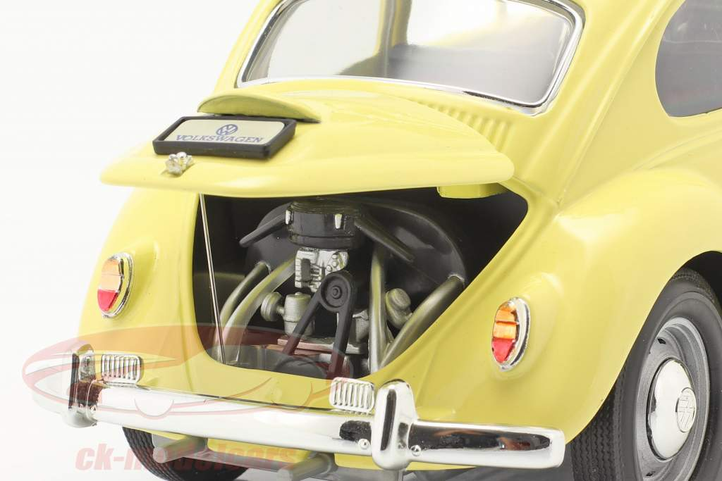 Volkswagen VW Beetle Camping Version year 1967 yellow 1:18 Lucky Diecast