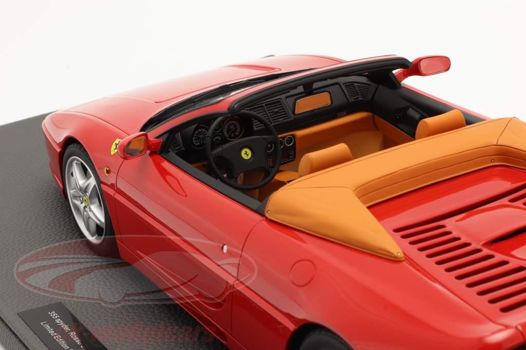 Ferrari F355 Spider Année de construction 1994 corsa rouge 1:12 TopMarques