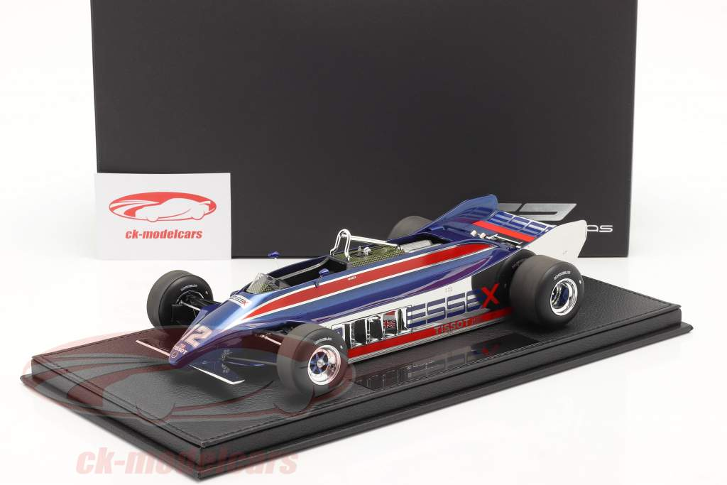 N. Mansell Lotus 88A #12 Øve sig Long Beach GP formel 1 1981 1:18 GP Replicas