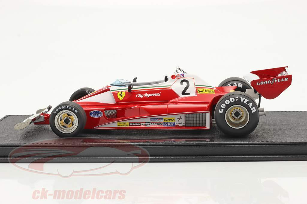 Clay Regazzoni Ferrari 312T2 #2 2do italiano GP fórmula 1 1976 1:18 GP Replicas