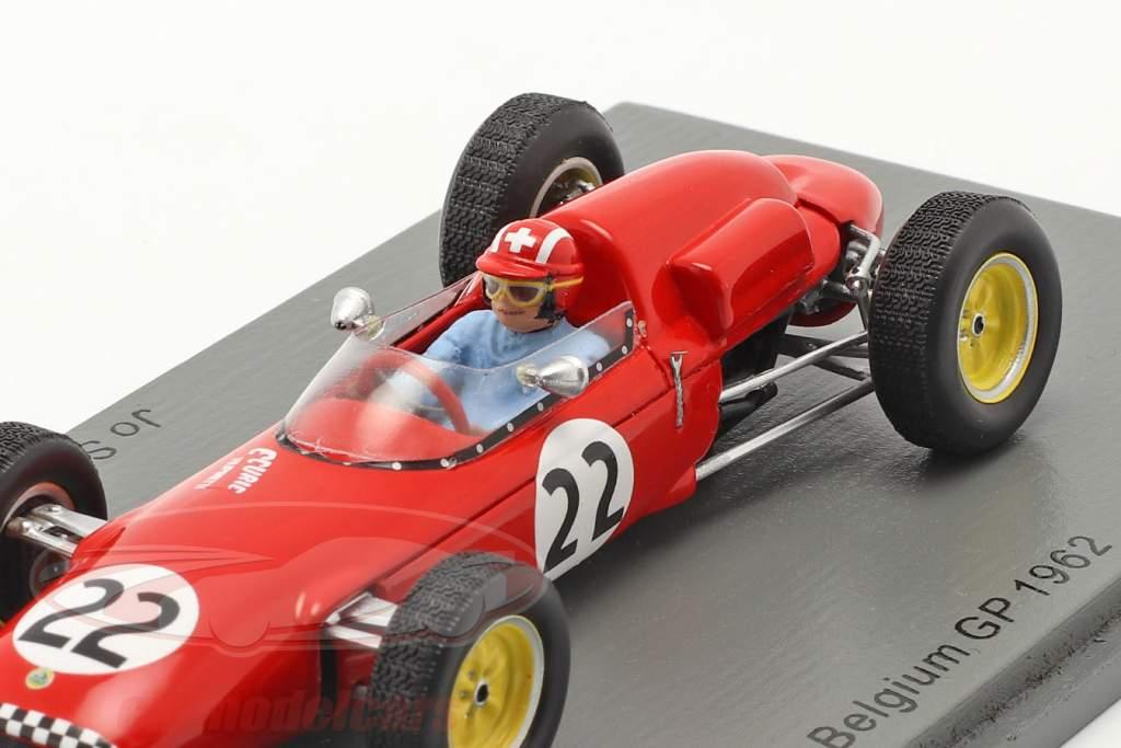 Jo Siffert Lotus 21 #22 Belgisch GP formule 1 1961 1:43 Spark