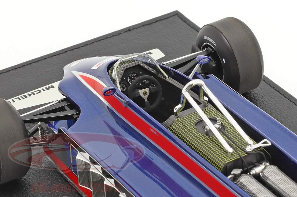 N. Mansell Lotus 88A #12 S'entraîner Long Beach GP formule 1 1981 1:18 GP Replicas