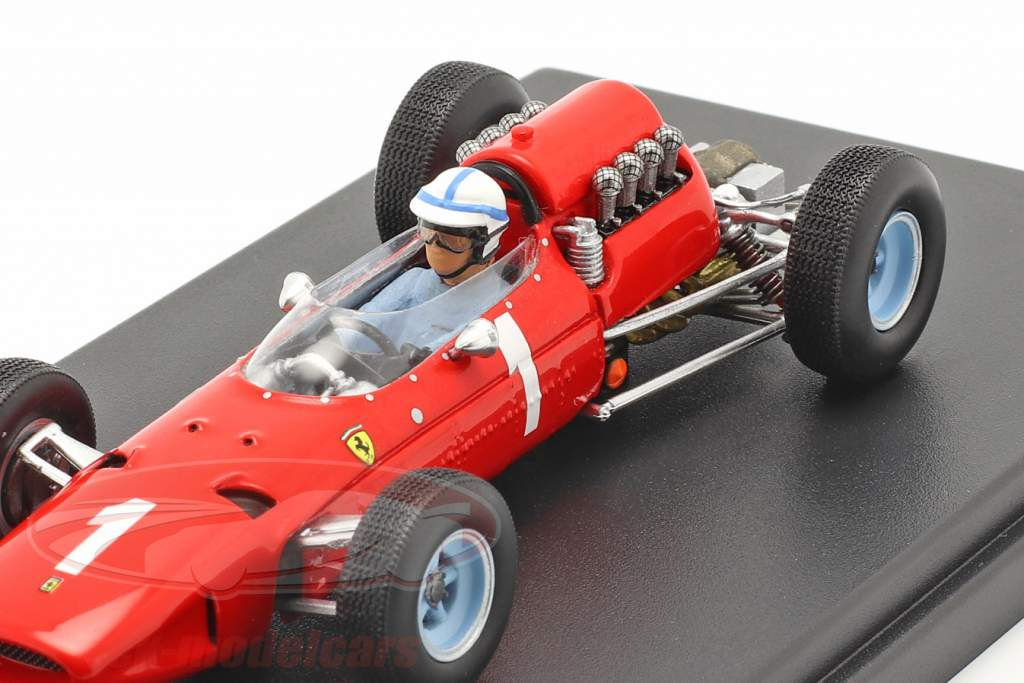 John Surtees Ferrari 158 #1 Belga GP fórmula 1 1965 1:43 LookSmart