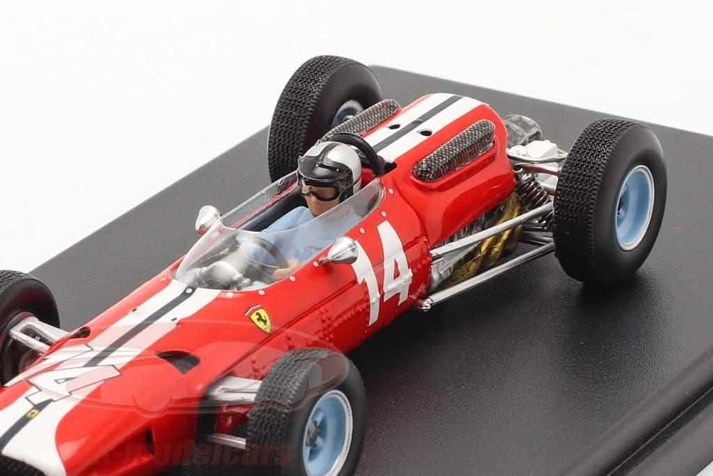 Pedro Rodriguez Ferrari 512 #14 5e Etats-Unis GP formule 1 1965 1:43 LookSmart