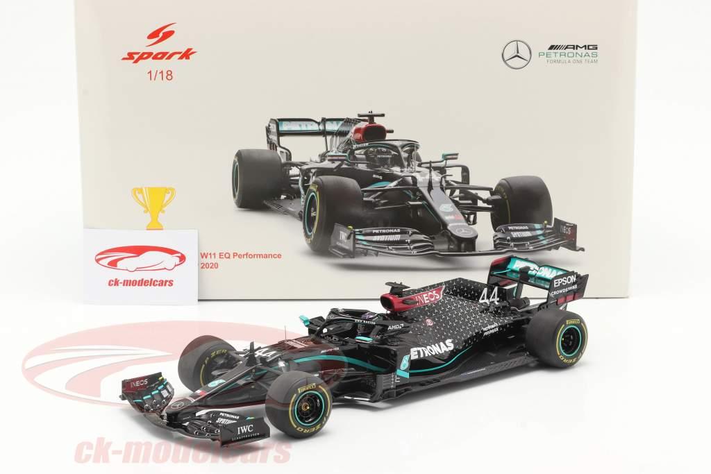 L. Hamilton Mercedes-AMG F1 W11 #44 Vincitore Stiria GP F1 Campione del mondo 2020 1:18 Spark