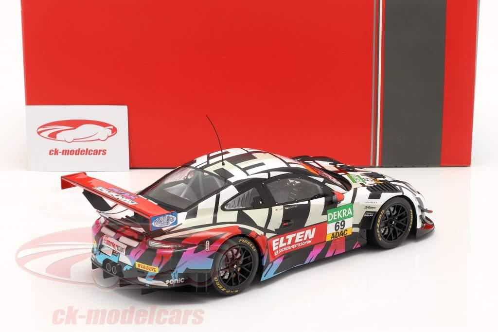 Porsche 911 (991) GT3 R #69 GT Masters 2018 Slooten, Luhr Iron Force 1:18 Ixo