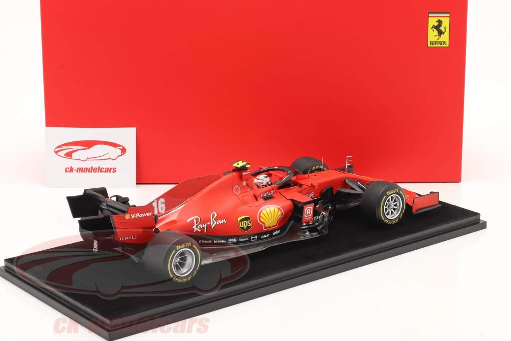 C. Leclerc Ferrari SF1000 #16 2e autrichien GP formule 1 2020 1:18 LookSmart
