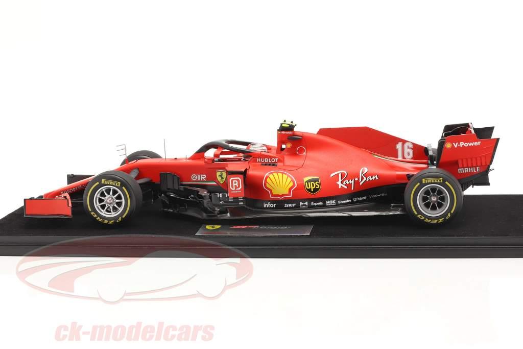 C. Leclerc Ferrari SF1000 #16 2 ° austriaco GP formula 1 2020 1:18 LookSmart