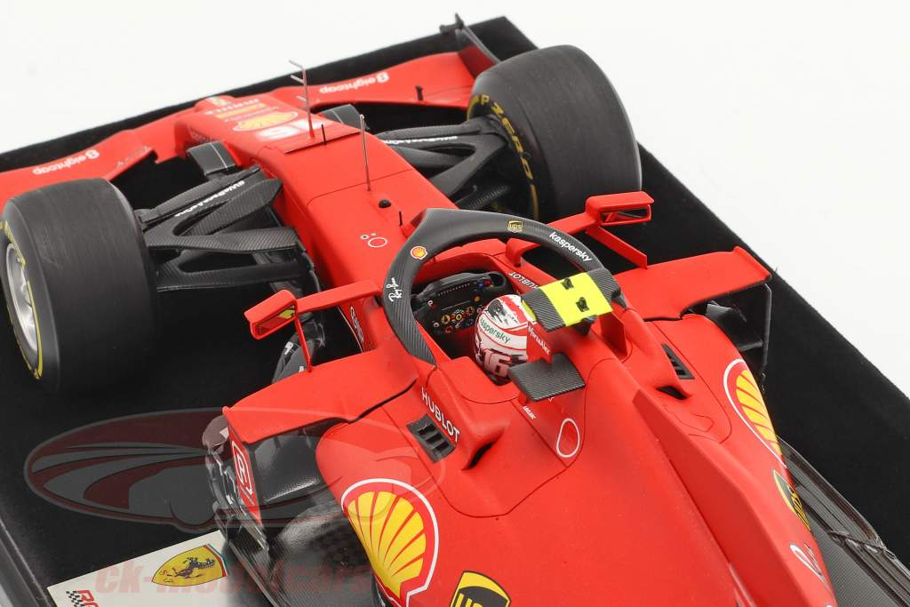 C. Leclerc Ferrari SF1000 #16 2. plads Østrigsk GP formel 1 2020 1:18 LookSmart