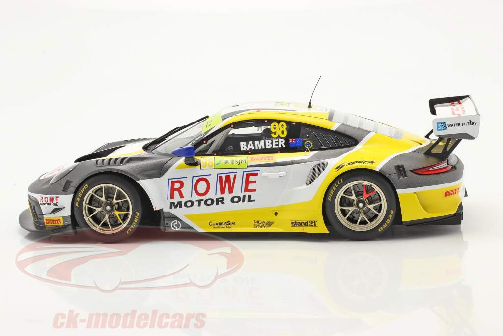 Porsche 911 GTE R #98 Tercero FIA GT World Cup Macau 2019 E. Bamber 1:18 Spark