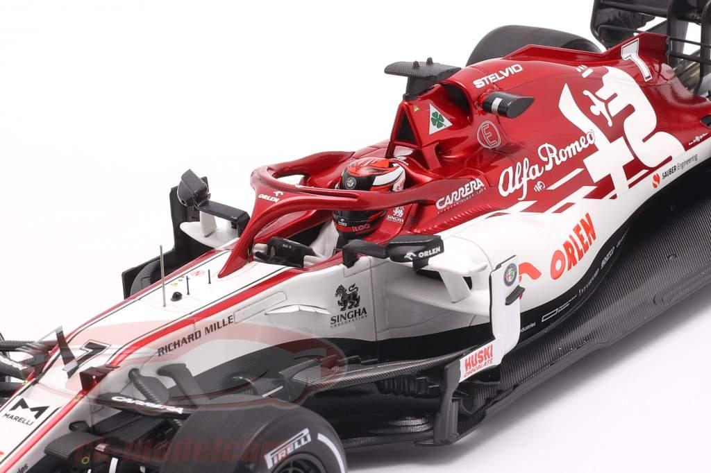 Kimi Räikkönen Alfa Romeo Racing C39 #7 Test Barcelona formula 1 2020 1:18 Spark