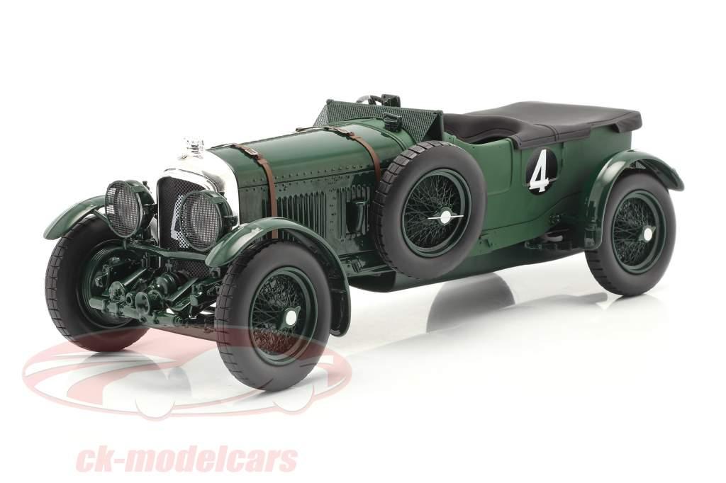 Bentley Speed Six #4 winnaar 24h LeMans 1930 Barnato, Kidston 1:18 Spark
