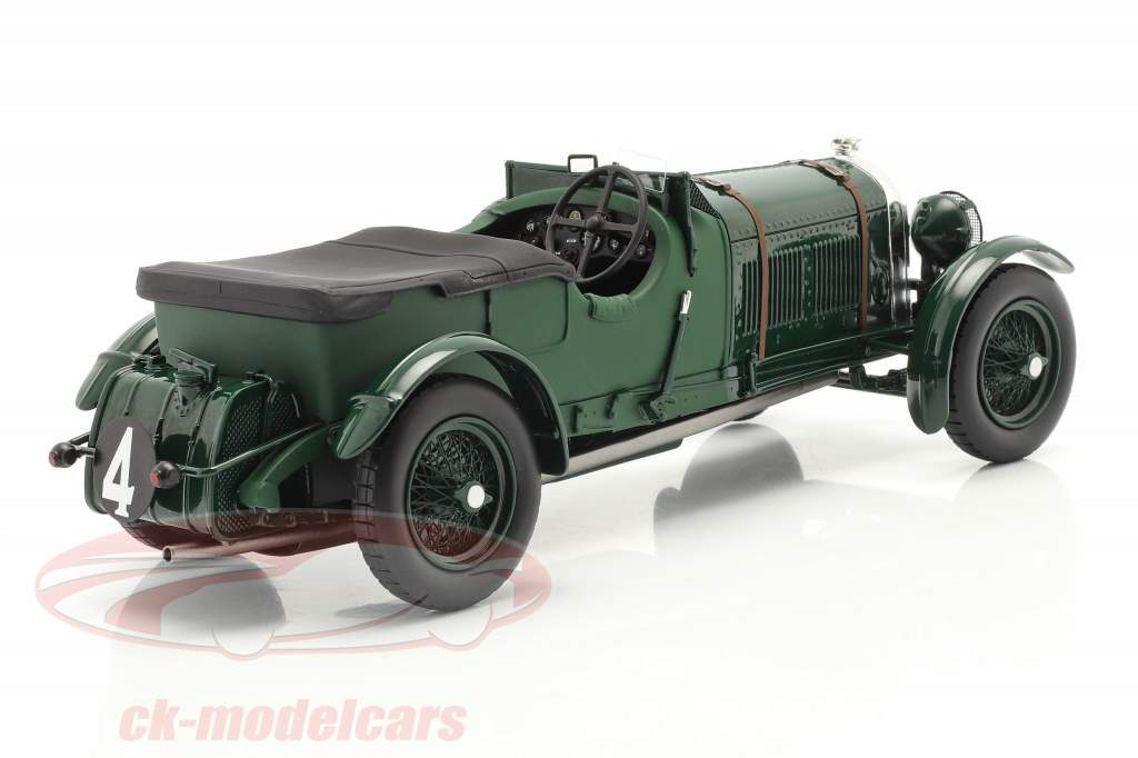 Bentley Speed Six #4 winnaar 24h LeMans 1930 Barnato, Kidston 1:18 Spark