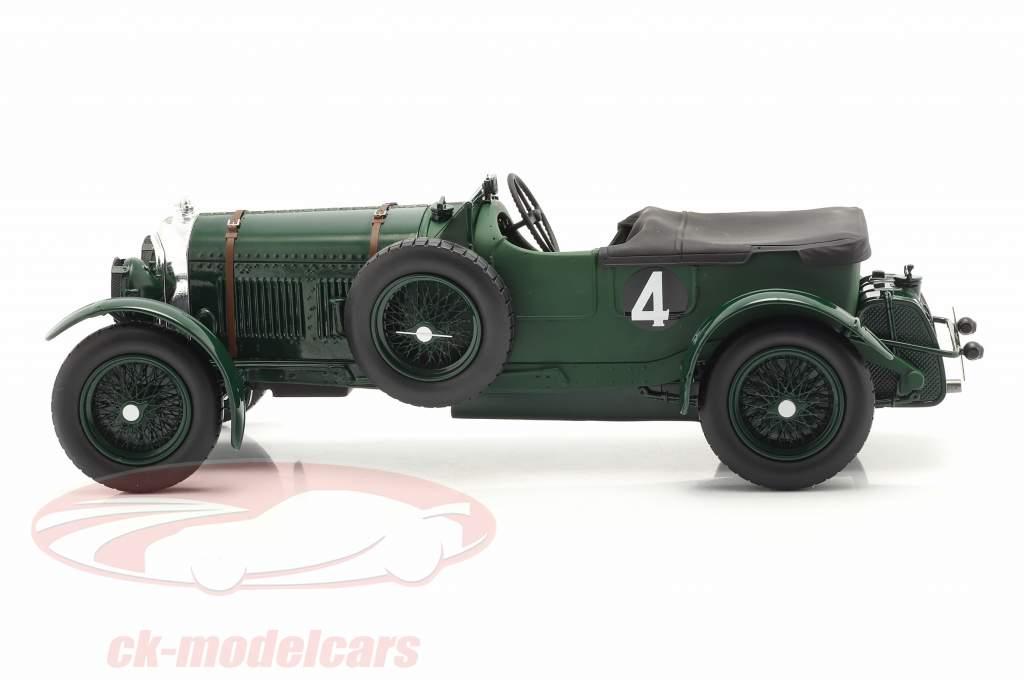 Bentley Speed Six #4 vinder 24h LeMans 1930 Barnato, Kidston 1:18 Spark