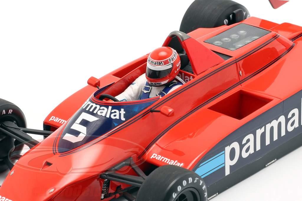 Niki Lauda Brabham BT49 #5 Øve sig Canadisk GP formel 1 1979 1:18 Spark