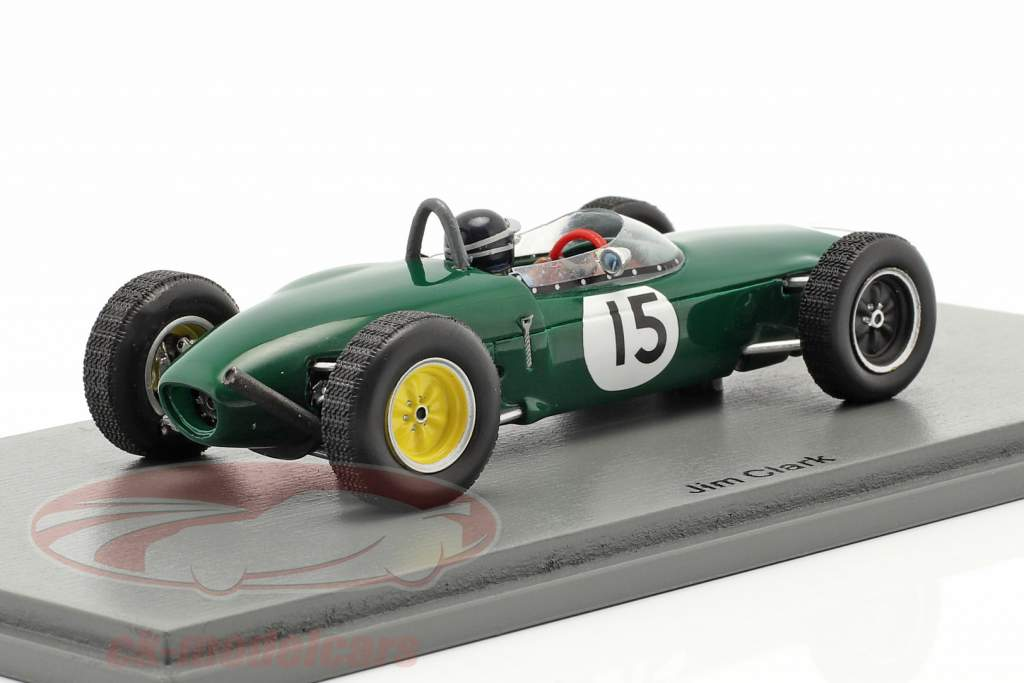 Jim Clark Lotus 21 #15 3 ° olandese GP formula 1 1961 1:43 Spark