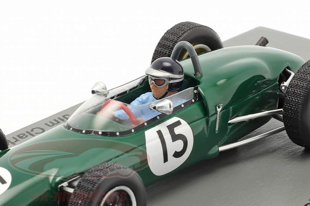 Jim Clark Lotus 21 #15 3e Nederlands GP formule 1 1961 1:43 Spark