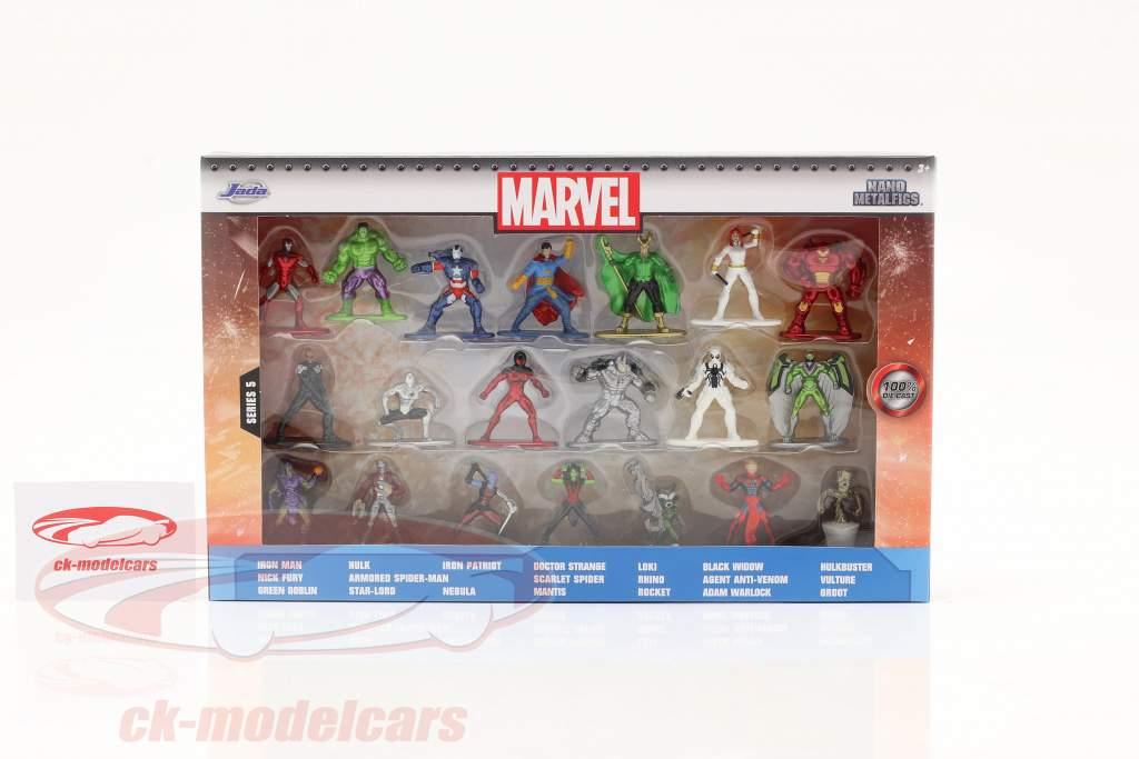Marvel Set 20 personnages séries 5 Jada Toys