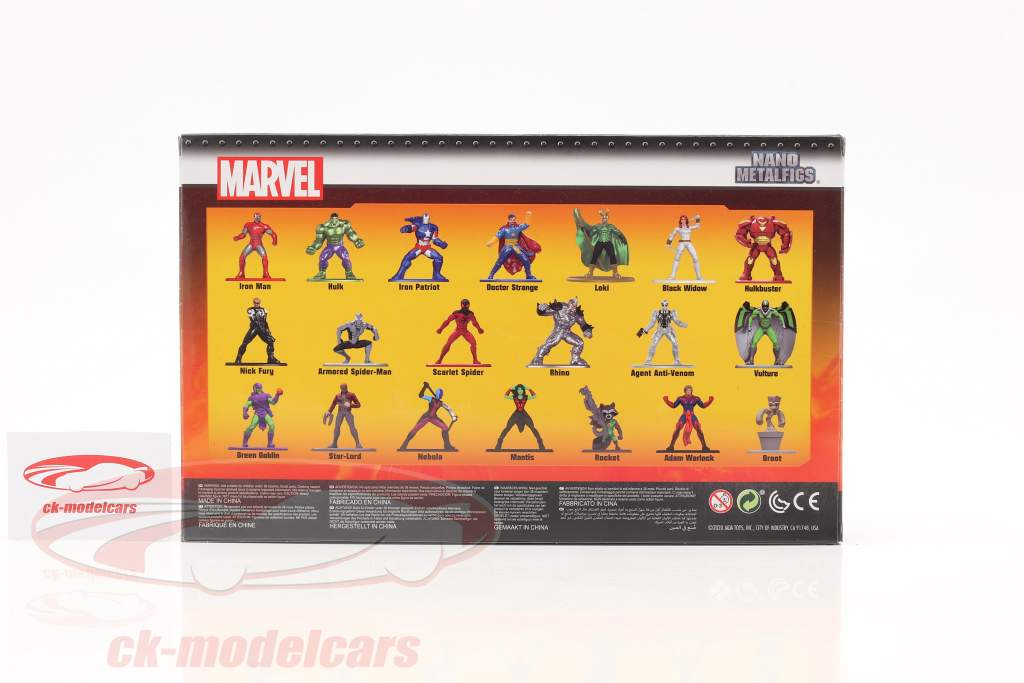 Marvel Set 20 Figuren Serie 5 Jada Toys