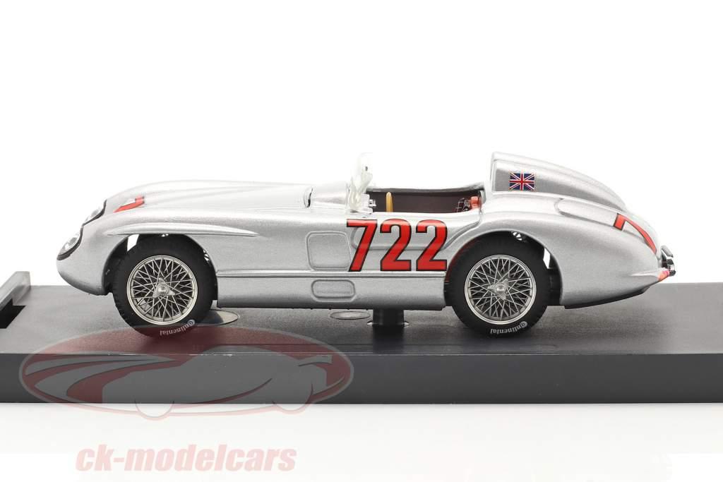 Mercedes-Benz 300 SLR #722 vencedora Mille Miglia 1955 Moss, Jenkinson 1:43 Brumm