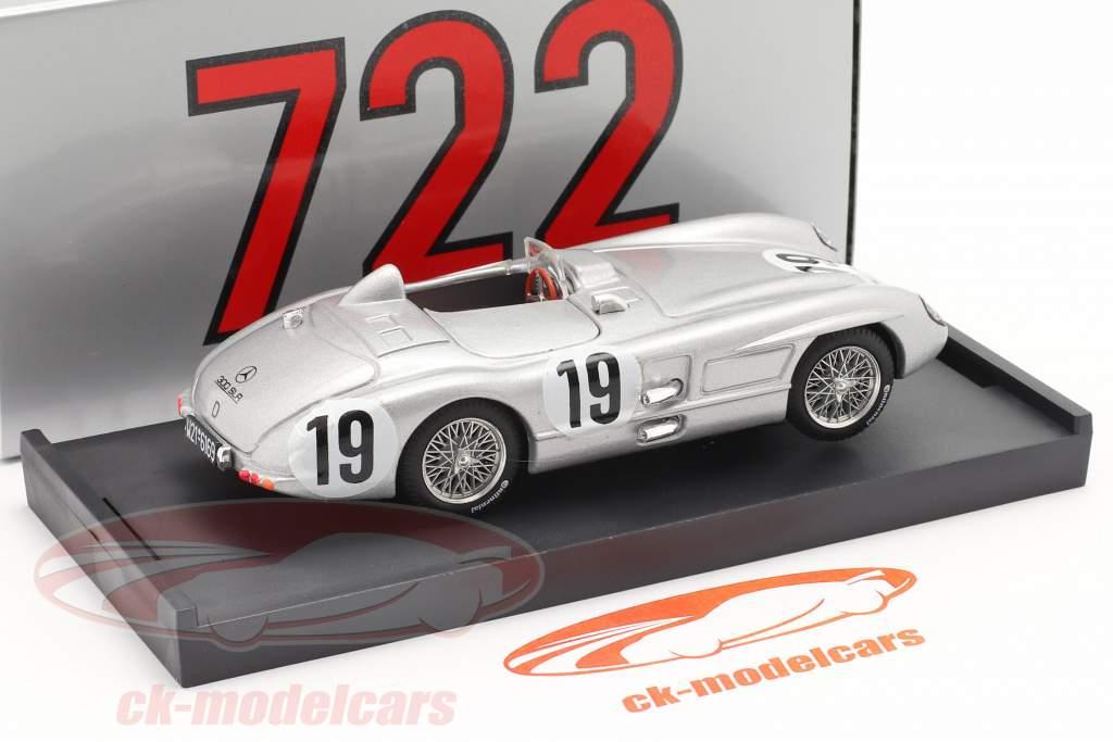 Mercedes-Benz 300 SLR #19 24h LeMans 1955 Fangio, Moss 1:43 Brumm