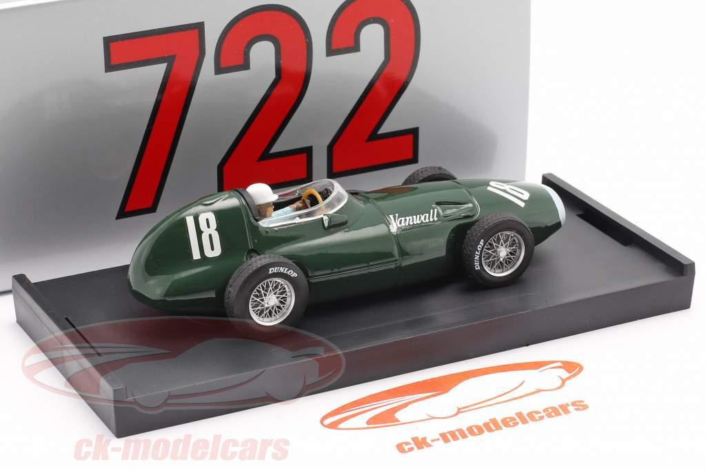 S. Moss / T. Brooks Vanwall VW57 #18 Winner British GP Formel 1 1957 1:43 Brumm