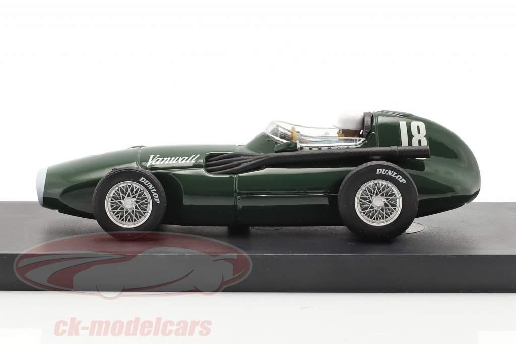 S. Moss / T. Brooks Vanwall VW57 #18 Gagnant Britanique GP formule 1 1957 1:43 Brumm