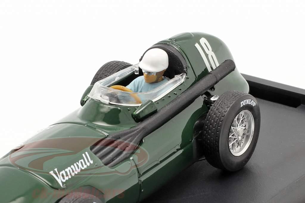 S. Moss / T. Brooks Vanwall VW57 #18 Ganador británico GP fórmula 1 1957 1:43 Brumm