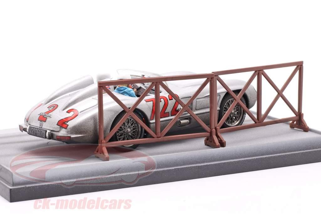 Mercedes-Benz 300 SLR #722 Winner Mille Miglia 1955 Moss, Jenkinson 1:43 Brumm