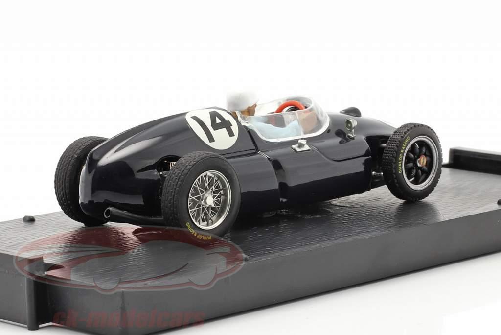 Stirling Moss Cooper T51 #14 winnaar Italiaans GP formule 1 1959 1:43 Brumm