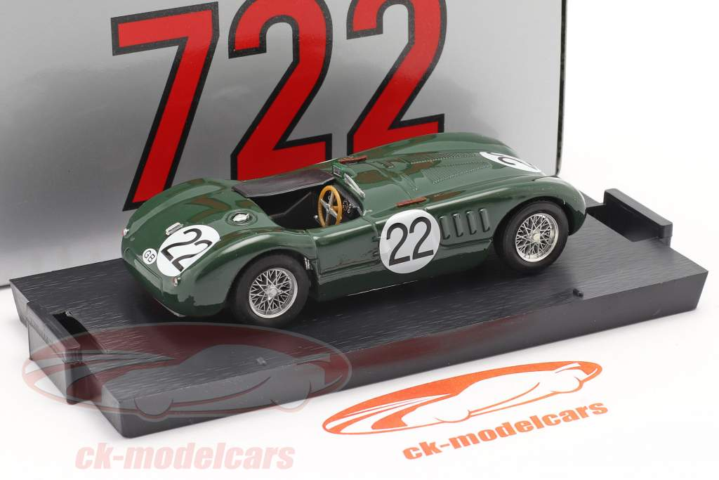 Jaguar C-Type #22 24h LeMans 1951 Moss, Fairman 1:43 Brumm