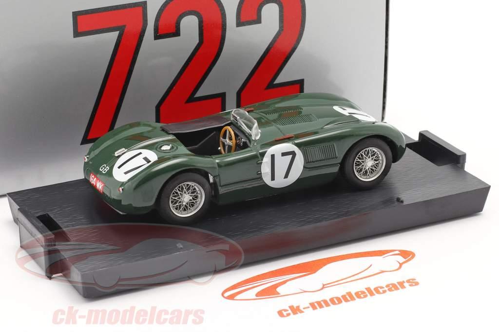 Jaguar C-Type #17 2do 24h LeMans 1953 Moss, Walker 1:43 Brumm